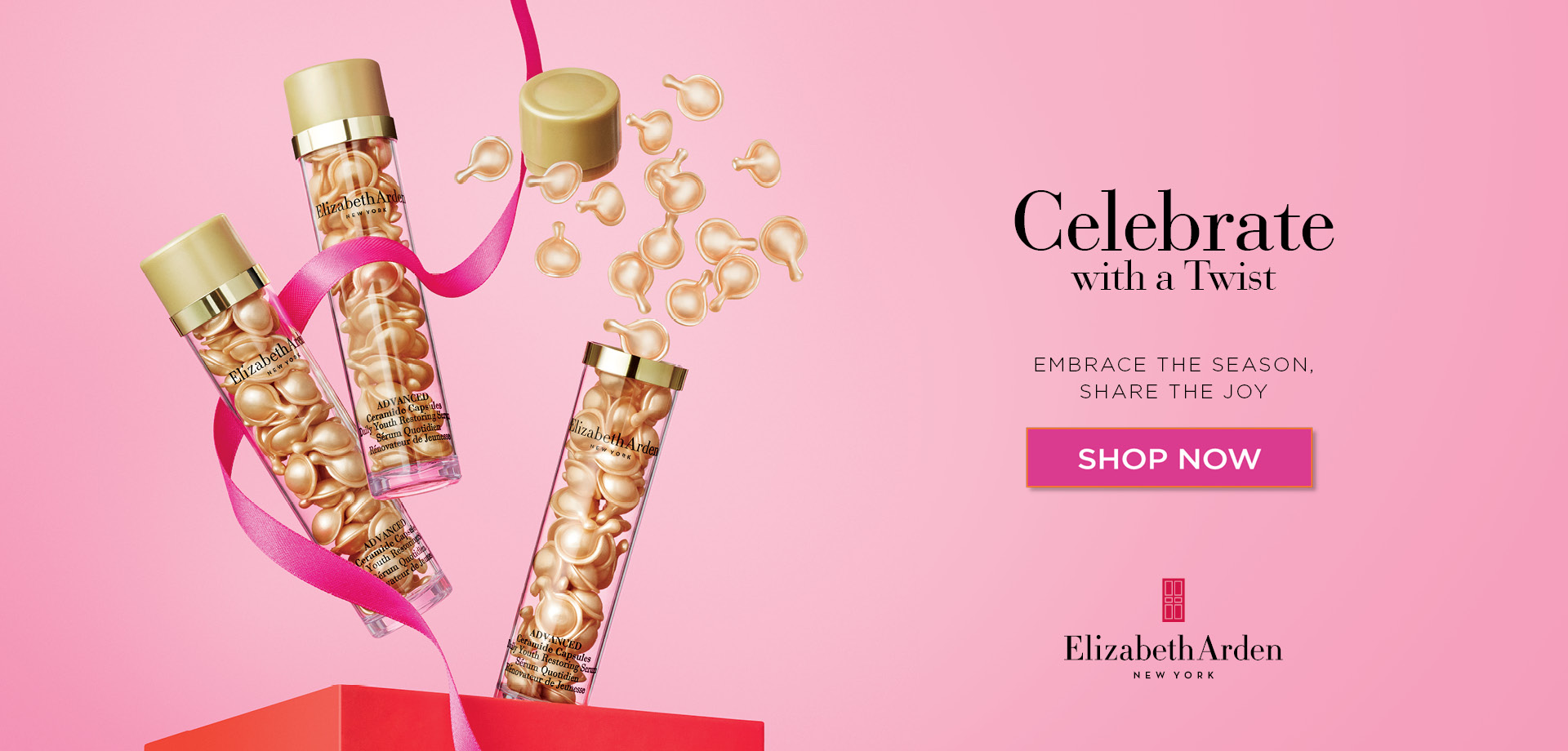 Celebrate Christmas with a Twist with Elizabeth Arden